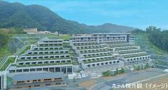 HIS出資の大型商業リゾート「ホテル・ヴィソン」、三重県多気町に7月20日に開業へ、茶室付きヴィラやペットと一緒に泊まれる棟など