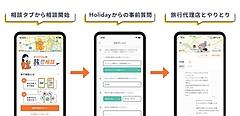 旅行プラン投稿・共有アプリで旅行会社の専門スタッフに旅行相談、近ツーと日本旅行が参画、アプリ上で予約まで