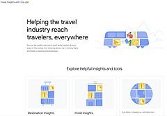 グーグル、検索データから旅行需要を分析するサービス開始、旅行業・DMO・宿泊施設など観光事業者向けに