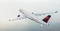 デルタ航空、旅行需要回復でエアバスとボーイングの機材36機を追加、燃費効率の改善も推進