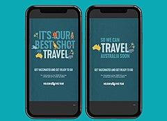 オーストラリア政府観光局、ワクチン接種の促進と、接種後の国内旅行向け新キャンペーン