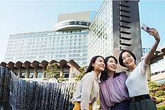 ニューオータニ東京、どこにも行けない都内の女性向けに、部屋代が実質無料の宿泊プラン、ナイトプールや食事券付きで