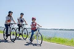 星野リゾートの若者向けブランド「BEB5土浦」、ジュニア用自転車レンタル開始、家族でのサイクリング旅を提案