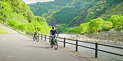 宮崎県で最小の「西米良村」、ミッションアプリで自転車ツーリズム推進、GPSチェックインで村内周遊