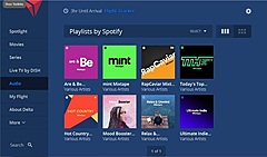 デルタ航空、機内エンタメで「Spotify」監修の音楽配信、特別編集のプレイリストで新コンテンツを追加