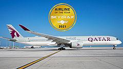 格付け会社の航空会社ランキング2021、1位はカタール航空、「清潔な航空会社」ではANAがトップ、JALが3位に ―スカイトラックス社