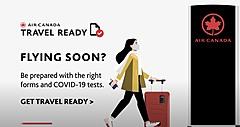 エア・カナダ、旅先の入国要件を確認できる新デジタルツールを提供、乗継便やパートナー便でも