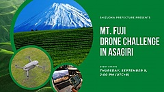 Shizuoka Prefecture organizes an event to control a drone remotely from Singapore to introduce tourism attractions