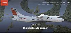 欧州航空機メーカーATR社、環境に優しい小型ジェット機を日本で販売強化、直近では40機の新需要を見込む