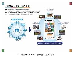 環境配慮の観光MaaSが栃木県・日光エリアで開始へ、デジタル限定フリーパスで、マイカーから鉄道への転換促進と渋滞緩和を
