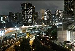 東京モノレールを夜景列車に、日本旅行が貸切、徐行運転や消灯で東京湾岸を楽しむツアー